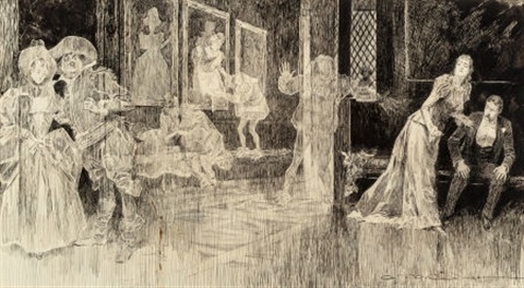 the ghosts by charles dana gibson