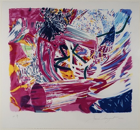 passenger, from the speed of light series by james rosenquist