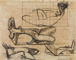 study for sculpture by f.e. mcwilliam