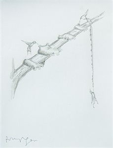 sculptors drawings works on paper by polly morgan