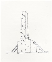 monument to man; constant effect by geoffrey clarke