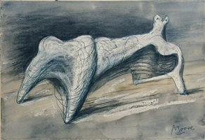 idea for metal sculpture by henry moore
