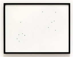 apophis orbit drawing (april 13, 2036, .375 au / july 17, 2034, .899 au) by iñigo manglano-ovalle