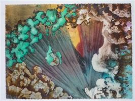 turquoise floating #71 by marlene yu