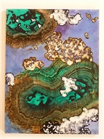sunken treasure emerald #6 by marlene yu