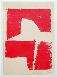 untitled (red) by david rabinowitch