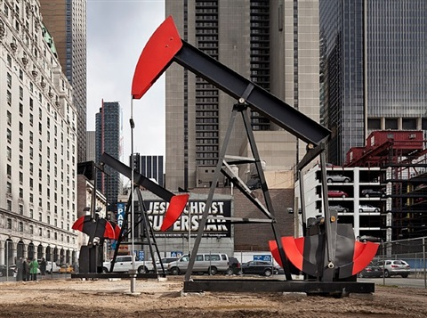 manhattan oil project (pump jack no.1) by josephine meckseper