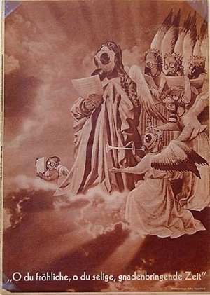 o joyful, o blessed, miracle-bringing time by john heartfield