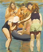 musseleaters by eric fischl