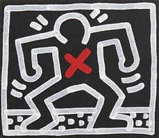 untitled, april 15, 1985 by keith haring