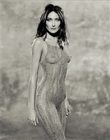 carla bruni - body paint by holger eckstein