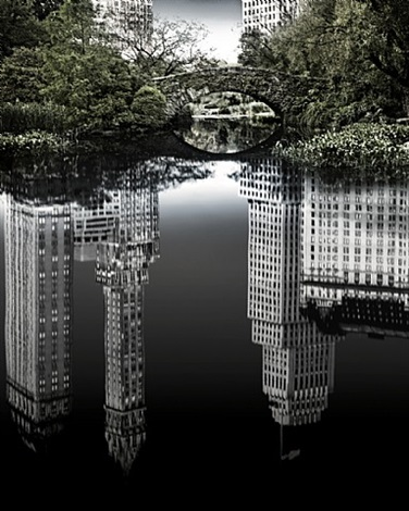 new york metropolis - central park south by holger eckstein