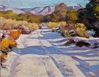 winter pathway by gregory frank harris