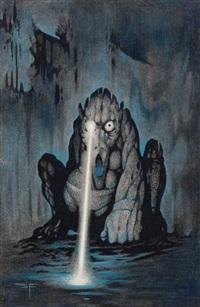 south-west watcher, story illustration by steve fabian