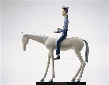 sailor on a horse by yu fan