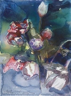 wild lotus series no.1 by ling jian