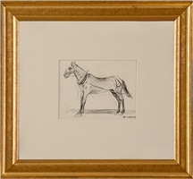 working horse by edward hopper