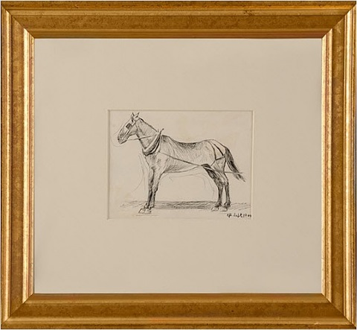working horse by edward hopper
