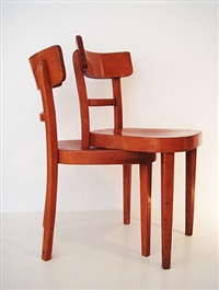 doppel-stuhl (double-chair) by rolf sachs