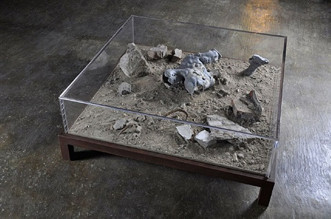 1 square meter 02 (empire of dust) by bo young jung & emmanuel wolfs
