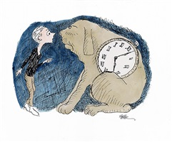 milo and tock from the phantom tollbooth by jules feiffer