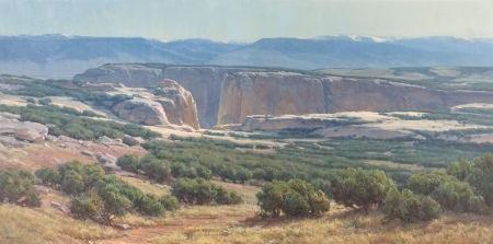 southwestern landscape by clyde aspevig