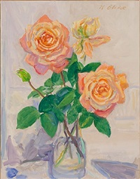 blizzard roses by nell blaine