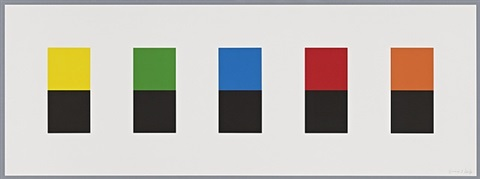 color over black by ellsworth kelly