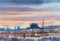 monument valley, arizona by jade fon