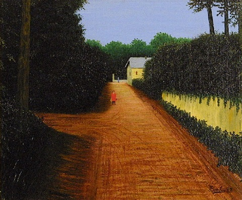 yellow street by camille bombois