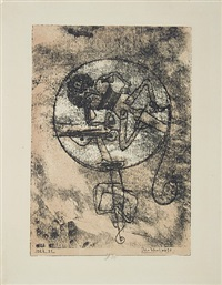 man in love by paul klee