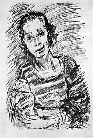 the concert i: naomi by oskar kokoschka