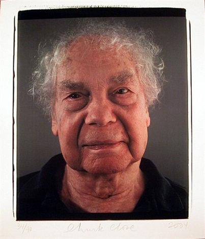 merce cunningham by chuck close