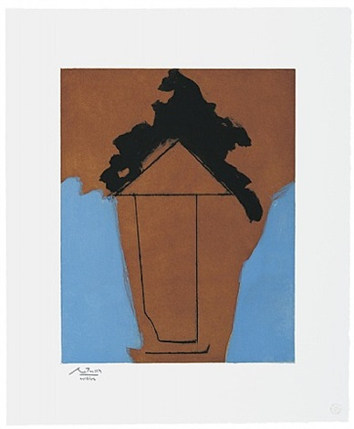 the persian ii by robert motherwell