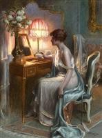 élégante au boudoir by delphin enjolras