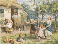 ring-a-ring-a-roses by myles birket foster