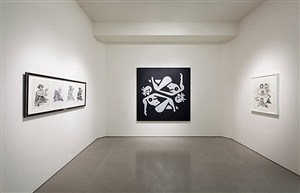installation view: ryan mcginness - women: new (re)presentations. quint contemporary art