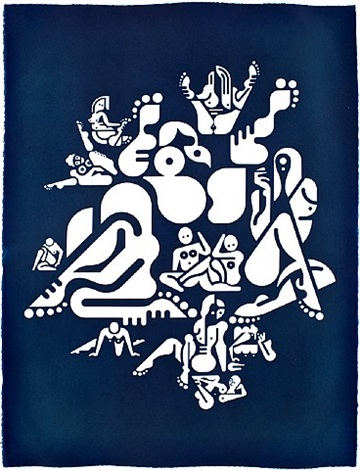 women: sun-stained symbols 27 by ryan mcginness