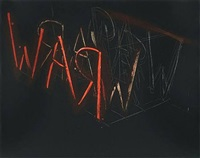 raw war, 1971 by bruce nauman