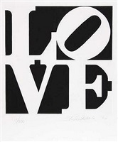love (from the portfolio love) by robert indiana