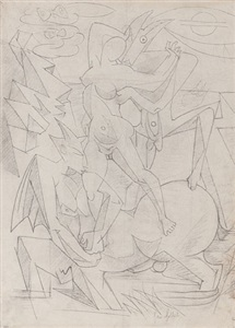 andré masson femmes by andré masson