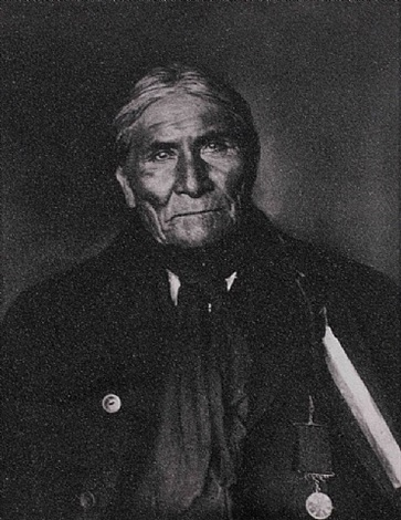 apache chief geronimo by russell young