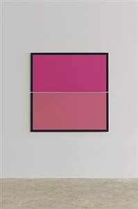split pink square by winston roeth