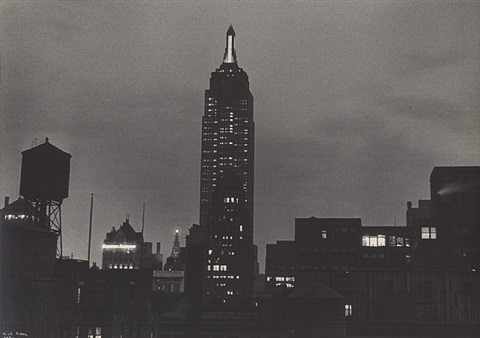 empire state building by ilse bing