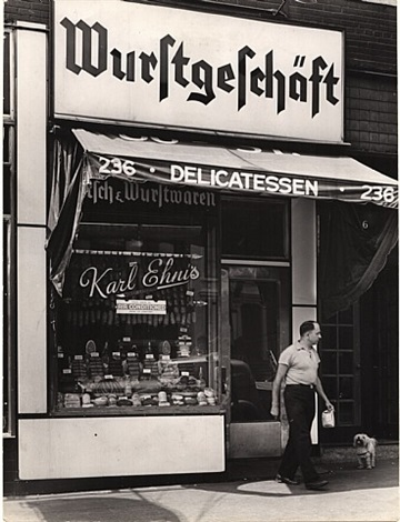 german store on east 86th street by andreas feininger