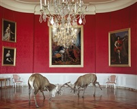 the king's reception (chambord) by karen knorr