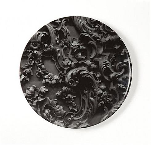 plate by rudolf stingel
