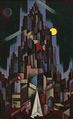 metropolis by emil james bisttram