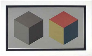 untitled (two cubes) by sol lewitt