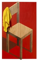 the wooden chair (dimensional edition) by adam neate